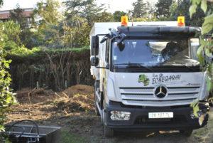 Dessouchage avec pelle mécanique en Pyrénées Atlantique 64 et Landes 40 176 - ECHEGARAY Ñaño élagage